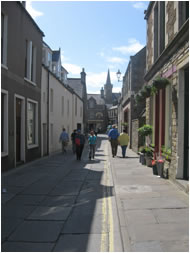 Victoria Street in Stromness, Orkney