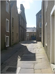 South End of Stromness in the Orkney Islands